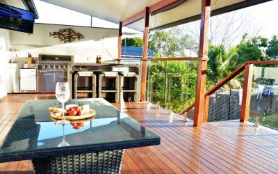 Landscaping and Hardwood Deck – Arana Hills